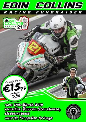 Eoin Collins Racing Fundraiser at Burren Storehouse