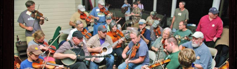 Old Time Appalachian Music gathering at the Roadside Tavern
