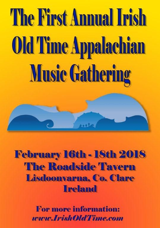 The First Annual Irish Old time Appalachian Music Gatthering at the Roadside Tavern