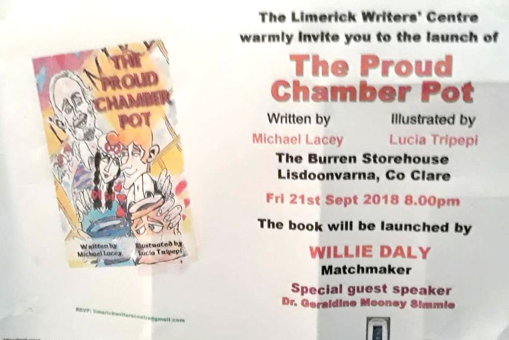 The Proud Chamber Pot launch at Burren Storehouse