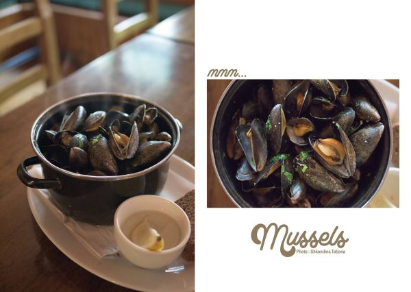 Mussels at the Roadside Tavern Kierans Kitchen